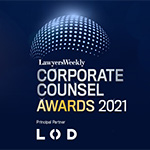 Lawyers Weekly Corporate Counsel Awards 2021